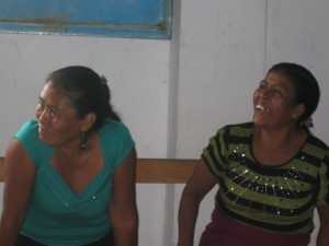 Women at a food security workshop, CESMACH
