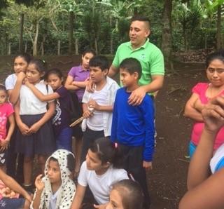 soppexcca teacher and kids