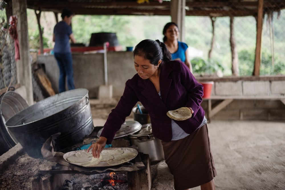 Women are leading the way to healthier, locally produced food. Chiapas, Mexico. Photo Julia Luckett