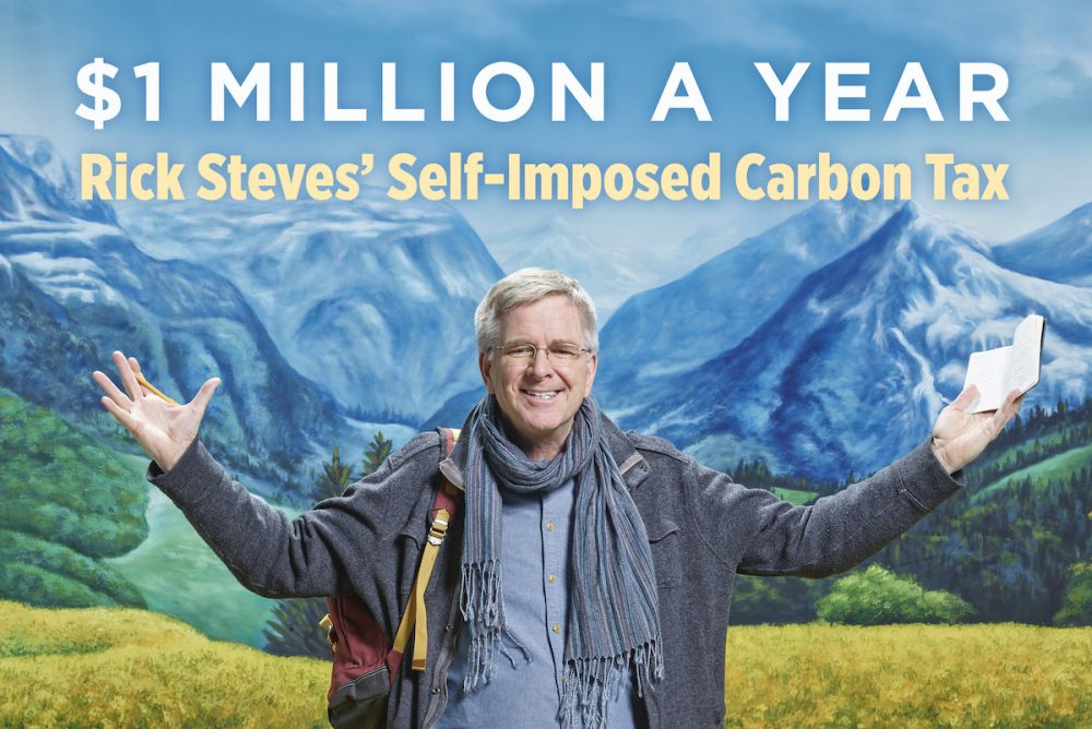 Rick Steves Donates $50K to Food 4 Farmers