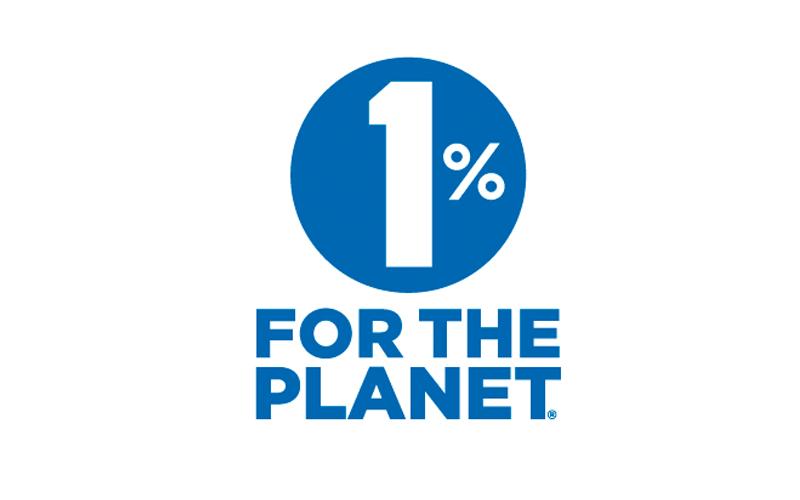 1 percent logo