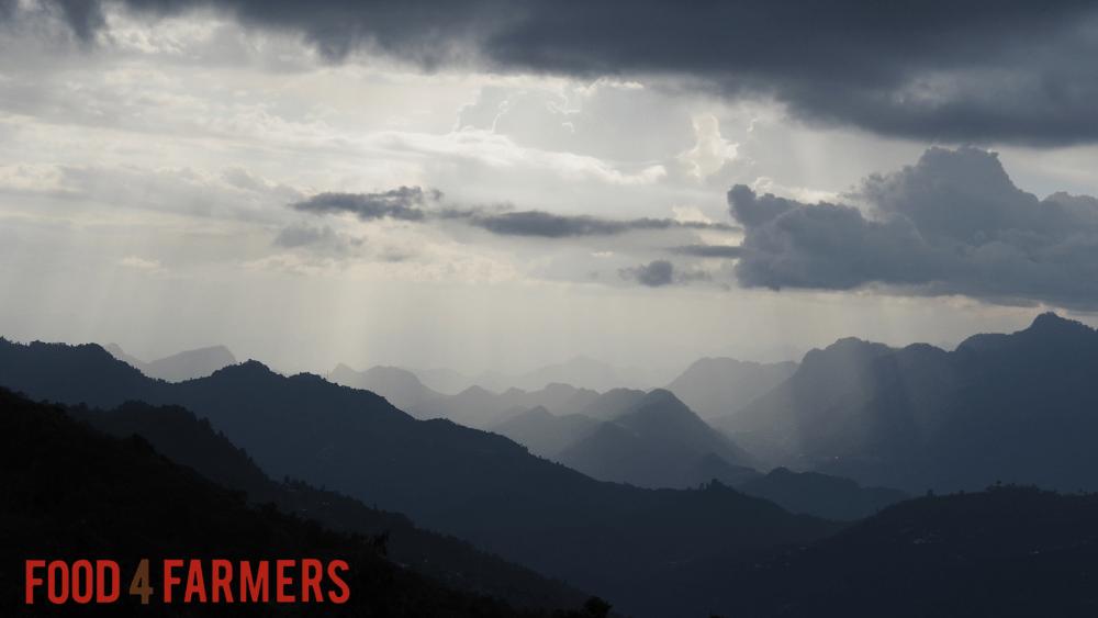 Guatemala evening clouds huehuetenango