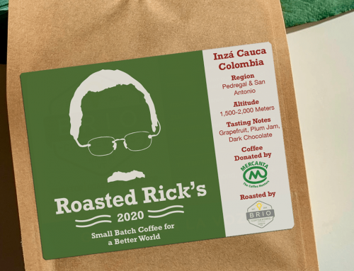 Roasted Rick's Honors Commitment to Lasting Food Security