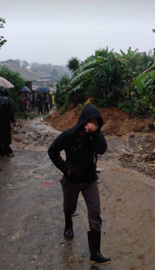 Hurricane Eta impact in Santa Avelina Guatemala