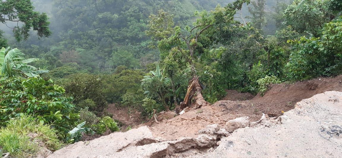 Landslide Santa Avelina Guatemala Hurricane Eta
